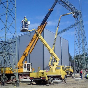 Elektrownia Łagisza - Zwyżka 22 i 27m