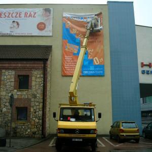 Kino Helios - montaż reklamy